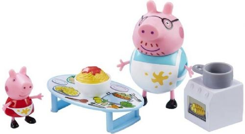 Peppa Pigs Messy Kitchen - Shopping Trip Set Assortment